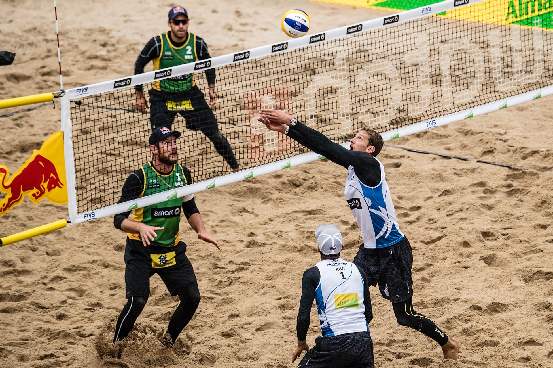 Russians take bronze at #HamburgMajor. Photocredit: Joerg Mitter