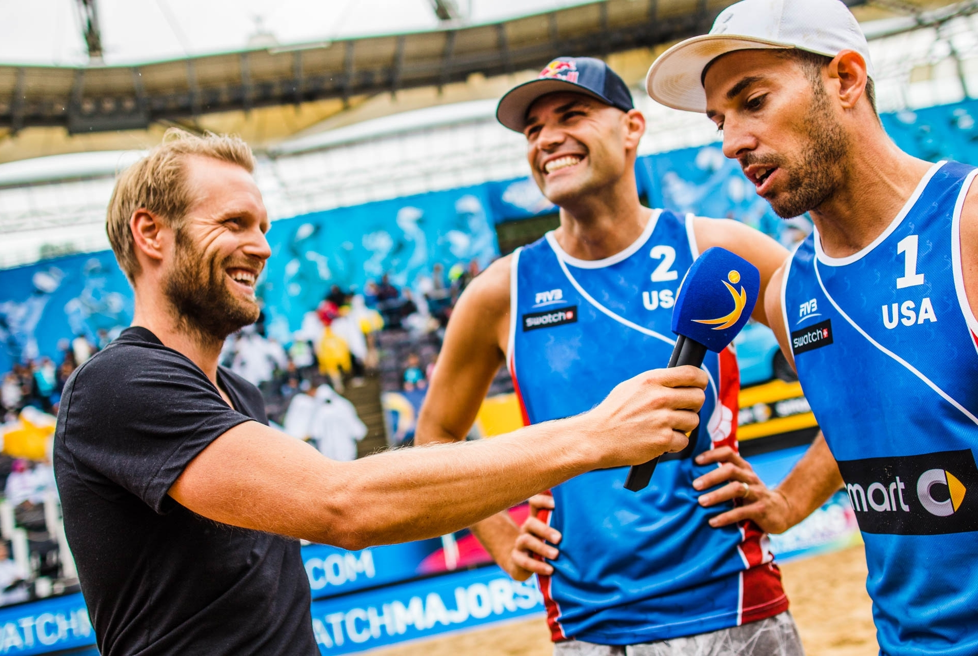 Top men's seeds Lucena/Dalhausser won the Hamburg Major last year