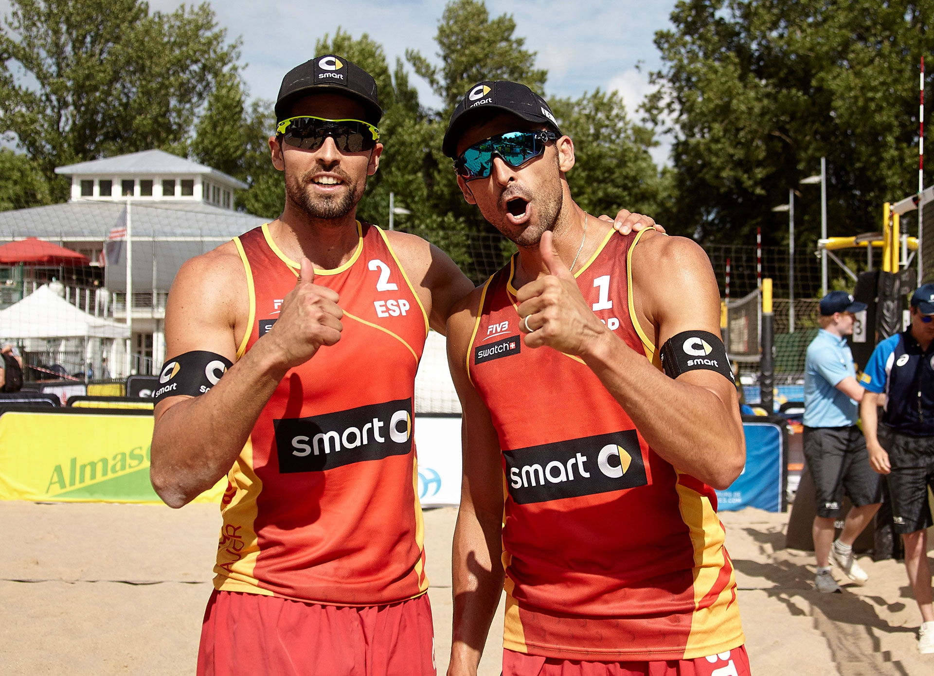 Can Herrera/Gavira send Spain into the semis? Photocredit: Mike Ranz.