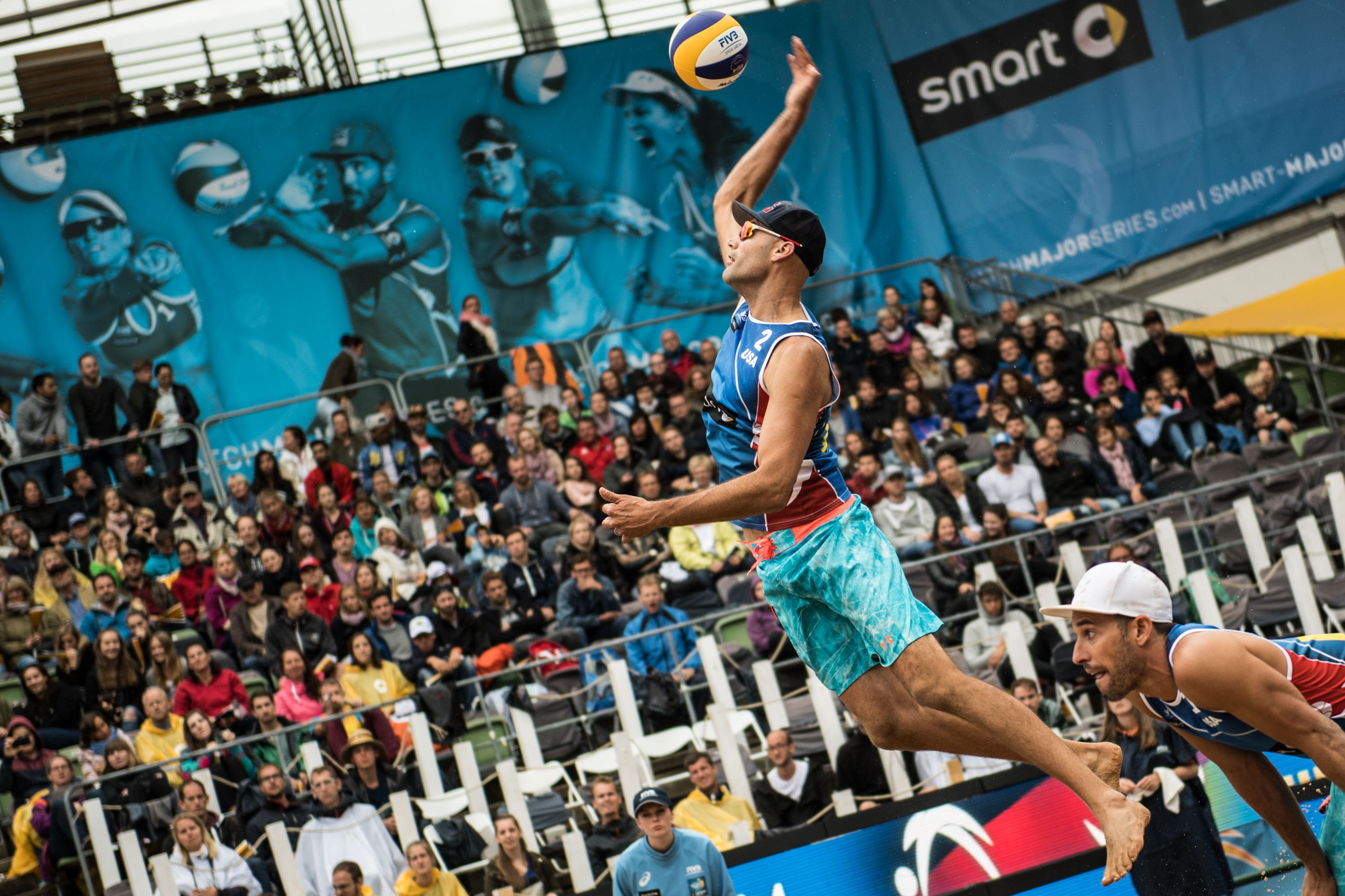 Phil Dalhausser was in unbeatable form in the final. Photocredit: Joerg Mitter.