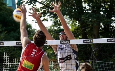 Beach Volleyball Fans aufgewacht – das smart Major Hamburg startet!