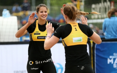 Vormittags-Update: 60 Minuten Beach Volleyball-Power!