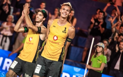 Local heroes rock the Rothenbaum