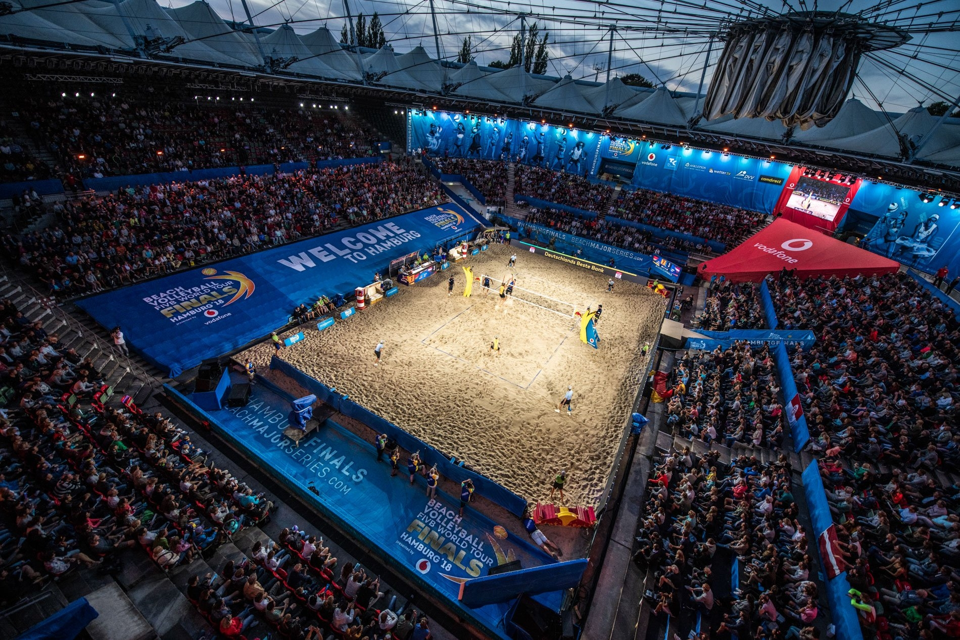 The Rotherbaum will host the beach volleyball elite once again in 2019