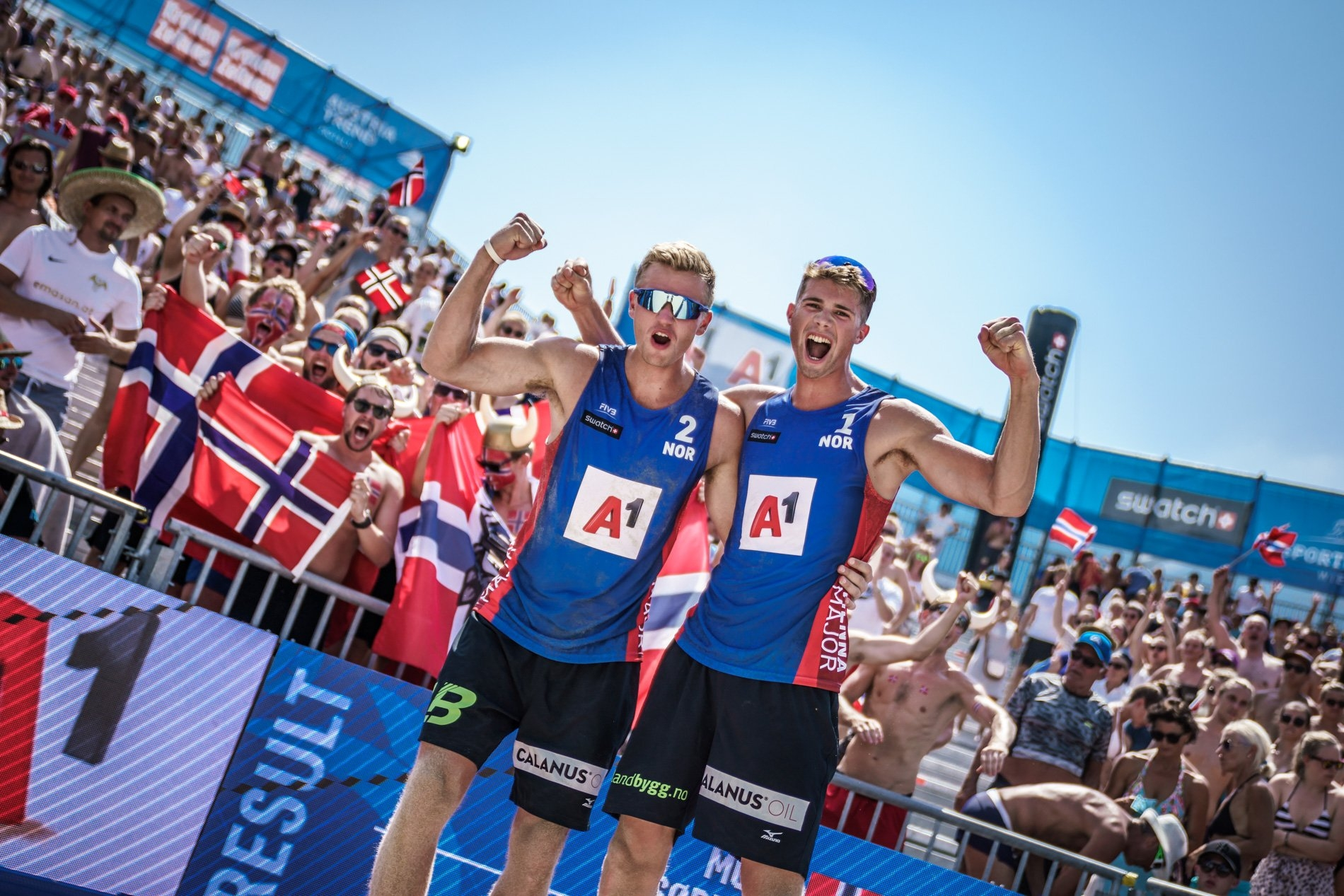 Sørum and Mol are in great form as they debut in the World Tour Finals